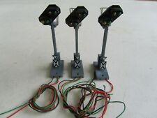 Fleischmann 6221 H0 - 3 x Licht Vorsignal  -- Funktion geprüft