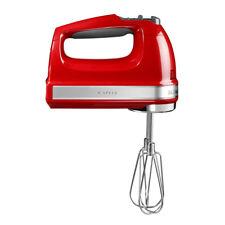 Kitchen Aid 5KHM9212EER Handrührer mit 9 Geschwindigkeitsstufen Empire Red
