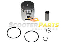 Piston Kit w Rings Motor For 49cc 50cc Kymco Cobra 50 Cross Racer Scooter Mopeds