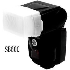Flash Diffuser Softbox Bounce Cap Box case For Nikon SB-600 Speedlite