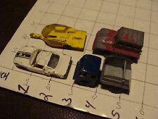 vintage matchbox: 4 as is: 38 HONDA TRAILER,35 SNOW TRAC, 41 FORD GT 1 tires,