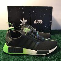 Adidas Originals x Star Wars Yoda NMD R1 J Solar Green Youth FW3941 Size 4.5Y