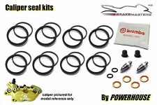 DUCATI 851 Superbike Biposto 1992 92 BREMBO Freno Frontal Kit Sello Calibrador