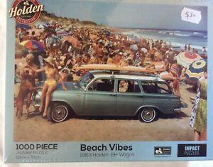 Beach Vibes 1963 Holden EH Wagon  - 1,000 Piece Jigsaw Puzzle  (50cm X 70cm)