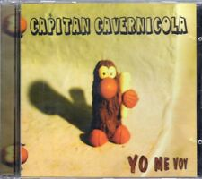 CAPITAN CAVERNICOLA YO ME VOY CD ALBUM DESCATALOGADO BLUES