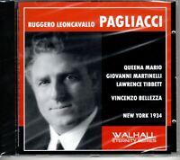 LEONCAVALLO - PAGLIACCI - MARIO - MARTINELLI - TIBBETT - BELLEZZA - MET 1934