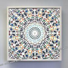 "DAMIEN HIRST Victorian Kaleidoscope Gravure Print Wallpaper Panel Art 27"" x 27"""