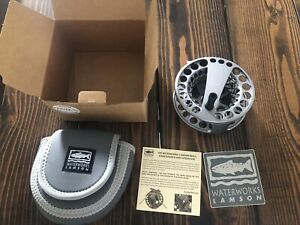 NEW Lamson Speedster size 4 Fly Fishing Reel Free Shipping