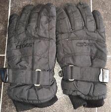 Herren Schwarz Handschuhe Größe 6 Thinsulate Insulation < NH10222
