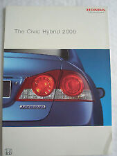 Honda Civic Hybrid brochure 2006