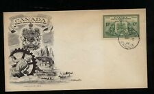 Canada E10 nice cachet first day cover Kl/Sr 0901