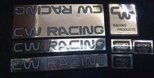 Nos Decal Sticker Cw Racing frame seatpost handlebars bar bmx