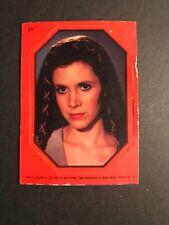 1983 Topps Star Wars Return of the Jedi Sticker #31 Princess Leia - ROTJ