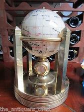Gemstone handmade rotation globe thermometer and 3 galeon clocks