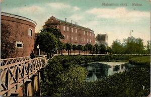 Skane Castle Slott Sweden Postcard used 1912 from Malmoe