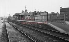 PHOTO  SR HORSMONDEN RAILWAY STATION 1955 VIEW