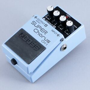 Boss CH-1 Super Chorus Guitar Effects Pedal P-13856