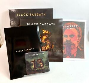 BLACK SABBATH - 13  2XLP + 2CD + DVD + Photos Box set Limited  Rare Japan Fedex