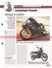 Technique / Technologie : TRIUMPH Joe Bar Team Fiche Moto #007300