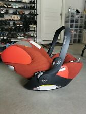 Cyber cloud Q rear-facing infant car seat from birth up to 18mon+Car Seat Base