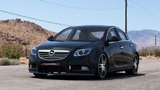 schwarze CUP Spoilerlippe Frontspoiler Spoiler Diffusor Ansatz für Opel Insignia