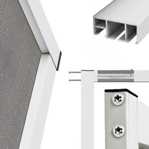 Alu Insektenschutz Fliegengitter Fenster Spannrahmen Gazefenster Aluminium - TOP
