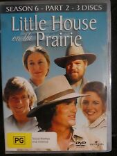 Little House On The Prairie : Season 6 : Part 2 (DVD, Region 4, 3-Disc Set) g13