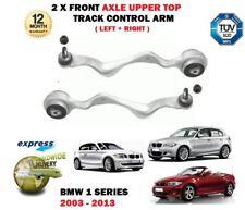 PER BMW SERIE 1 2003-2013 NUOVO 2x ASSE ANTERIORE SUPERIORE SX + DESTRO