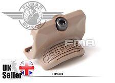 Airsoft FMA GO GUN Style GAS PEDAL RS2 Thrumb Rest for Rail - DE/Tan AEG GBBRs