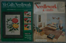 Two (2) Vintage McCall's Needlework & Crafts Magazines 1954 and 1956