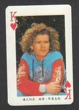 The Rockmelons Peter Blakely Scarce Single Playing Card from China