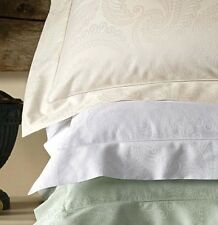 Sferra TASSO Boudoir Sham Leaf Green Egyptian Cotton Sateen Jacquard New