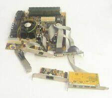 XCEL/2000 PC CHIPS M748LMRT MOTHERBOARD SOCKET 370 SLOT 1 CELERON 533MHZ 384MB R