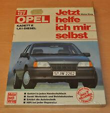OPEL Kadett E 1,6 Liter Diesel ab September 1984 Reparaturanleitung JHIMS 127