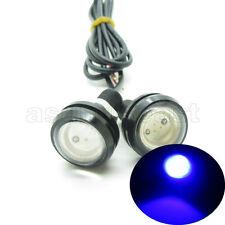 2 x Blue DC12V 9W Eagle Eye LED Daytime Running DRL Backup Light Car Auto Lamp