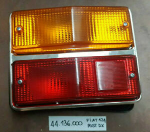 Fiat 124 Third Series From 1972 Right Side Rear Light Aric New