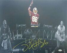 Jordan Reed Signed Autographed 16x20 Washington Redskins JSA