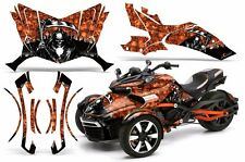 AMR Racing CanAm Spyder F3-S Roadster Graphic Kit Street Bike Decal Wrap REAP O