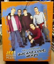 BACKSTREET BOYS jigsaw puzzle NWT poster Millennium 2000 Nick Carter boy band