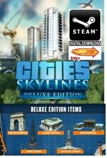 Cities: Skylines Deluxe Edition  PC / Mac Steam UK **FAST DELIVERY**