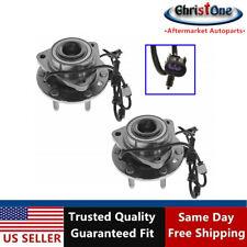 2 Front Wheel Hub Bearing Assembly 513188 Fits 02-09 Chevy Trailblazer GMC Envoy