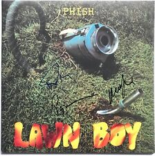 Phish signed lawn boy album trey anastasio mike gordon paige group autographed