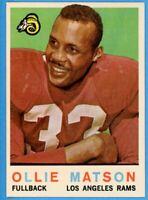 1959 TOPPS FOOTBALL #50 OLLIE MATSON (HOF) (NM)