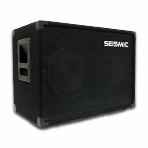 SEISMIC AUDIO 210 Bass Guitar Speaker Cabinet 4Ohm 2x10