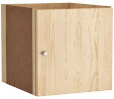 Kallax Einsatz mit Tür Ikea, Birkenachbildung 33*37 Expedit Birke Regal 00278168