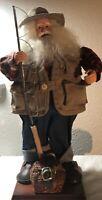 "Adorable Fisherman Santa Claus 17"""