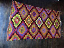 Modern Anatolian Design Handmade Kilim Rug- 4′5'' × 7′6''