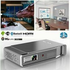 Neues AngebotNew Toumei V5 Android 3D HD 4K DLP Projector Wifi Home Cinema HDMI USB 8500Lumen