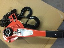 LEVER CHAIN  HOIST 3 TON DAYTON MODEL 4ZX49 NEW