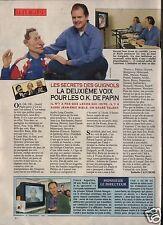 Coupure de presse Clipping 1992 Les Secrets des Guignols   (1 page)
